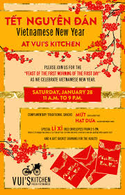 vietnamese new year at vui s kitchen