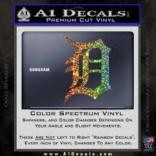 Detroit Tigers D Decal Sticker A1 Decals