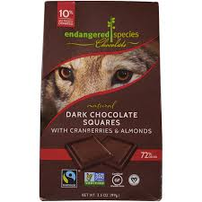 endangered species chocolate natural
