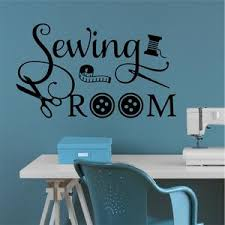 Craft Wall Decal Sewing Room Sign Vinyl Wall Lettering