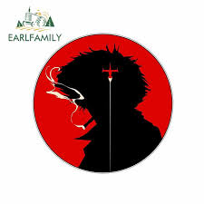 Earlfamily 13cm X 12 9cm For Cowboy Bebop Spike Circle Logo Funny Car Stickers Vinyl Graphics Jdm Rv Van Fine Decal Accessories Car Stickers Aliexpress