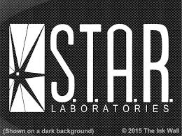 Star Labs S T A R Laboratories Window Decal Sticker The Flash Cw Ebay