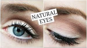 easy natural eye makeup no eyeliner