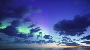 northern lights over michigan s upper