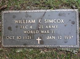 William E. Simcox (1921-1997) - Find A Grave Memorial