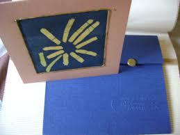Tarjetas Con Arte En Batik Para Invitaciones Arte Para La