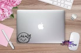 Lilo Tsum Tsum Inspired Stitch Disney Macbook Car Window Laptop Vinyl Decal Sticker