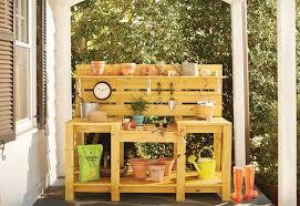 ultimate potting bench