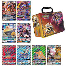 5 Oversized Jumbo GX Pokemon Cards with Collectors Chest Tin by ...