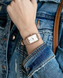The Ava - Rose Gold + Pale Pink | Vincero Watches