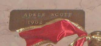 Adele Scott (1902-1955) - Find A Grave Memorial
