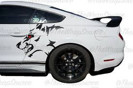 Mustang Gt 5 0 Coyote Decal Sticker 180 00 Picclick