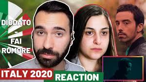 Reaction: Italy (Diodato - Fai Rumore) [Sanremo 2020] - YouTube