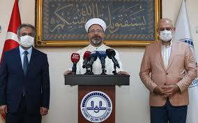 Ali Erbaş'tan yeni Ayasofya açıklaması ilk defa Prof. Dr. bir ...