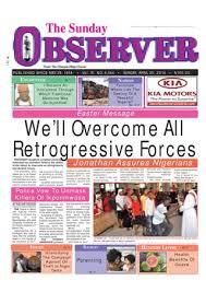 Sunday observer 20 04 2014 by Nigerian Observer - issuu