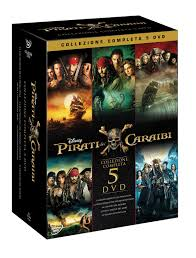 Pirati dei Caraibi Collezione (5 DVD): Amazon.it: Disney, Joachim ...