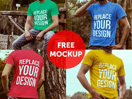 20 free t shirt mockups for designers