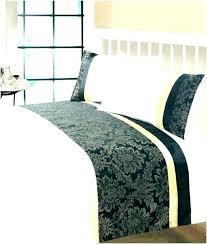 gold queen bedding set white