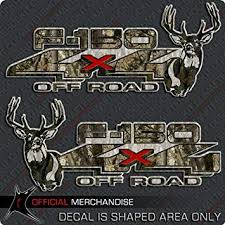 Amazon Com 4x4 Whitetail Deer 150 Truck Sticker Archery Camo Decal Set Automotive