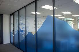 Office Interior Decorative Window Decals