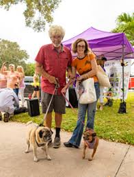 Jack Haskell and Ada Snyder with Grover and Bocita | Vero News