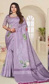 cal digital print sarees below 500