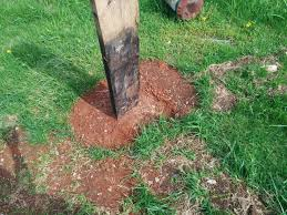 How To Set A Long Lasting Fence Post Without Concrete Thegreenergrassfarm