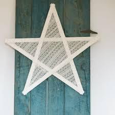 star decorations from yard sticks