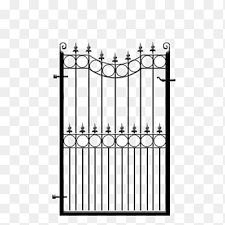 Wicket Gate Garden Fence House Gate Service Steel Png Pngegg