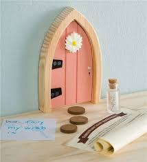 Main Image For Pink Fairy Door Kids Decor Wooden Doors Outdoor Toys For Kids