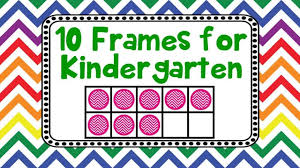 kids adding counting using ten frames