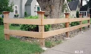 Rail And Split Rail Fences Midwest Fence