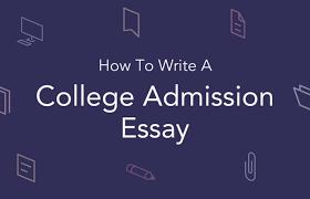 admission essay format sle college