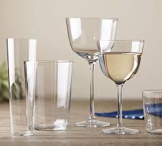 spanish bodega wine glasses pottery barn