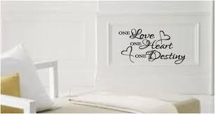 One Love One Heart One Destiny Vinyl Decal On Luulla