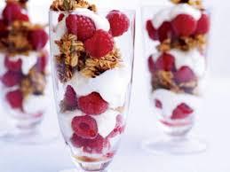 raspberry yogurt parfait nutrition