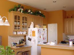 pumpkin is a great kitchen color