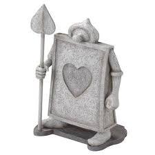 wonderland disney garden object statue