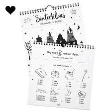Sinterklaas Aftelkalender En Doe Boek Jetjesenjobjes Nl