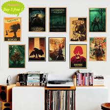 Bioshock Retro Poster Home Furnishing Decoration Kraft Game Poster Drawing Painting Wall Stickers Buy At The Price Of 1 77 In Aliexpress Com Imall Com
