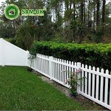 China 4 Ft Scalloped Vinyl Picket Fence Vegetable Garden Photos Pictures Made In China Com