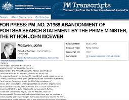 PM Transcripts — Australian Prime ...