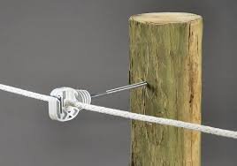 2947 10 N Ring Insulator 6 Extender For Wood Posts Holds Wire Rope Up To