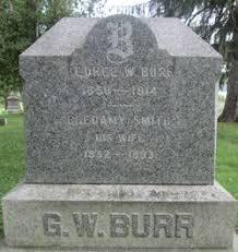 "Rheuamy ""Rhea"" Smith Burr (1852-1893) - Find A Grave Memorial"