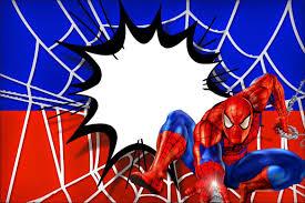 Spiderman Free Printables Spiderman Birthday Invitations