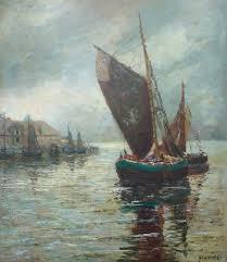 Fischerboot an dem See