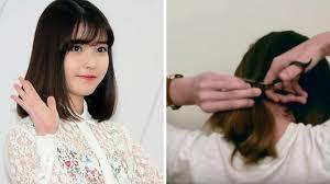Tóc Đẹp: Hướng dẫn tự cắt tóc lob tại nhà cực đơn giản đẹp không ...