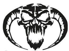 Devil Horn Skull Rams Vinyl Decal Sticker For Car Truck Bumper Wall Window Ebay
