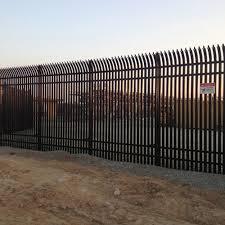 Palisade Ez Fence System Palisade 10ft Panel Height Caddetails