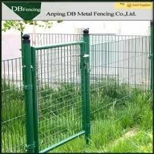 Green Galvanized Wire Mesh Face Gate Welded Wire Mesh Fencing Panels